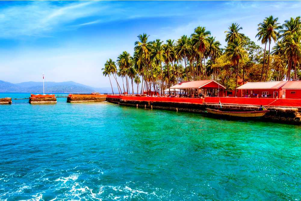 Travel De Andaman Ross island